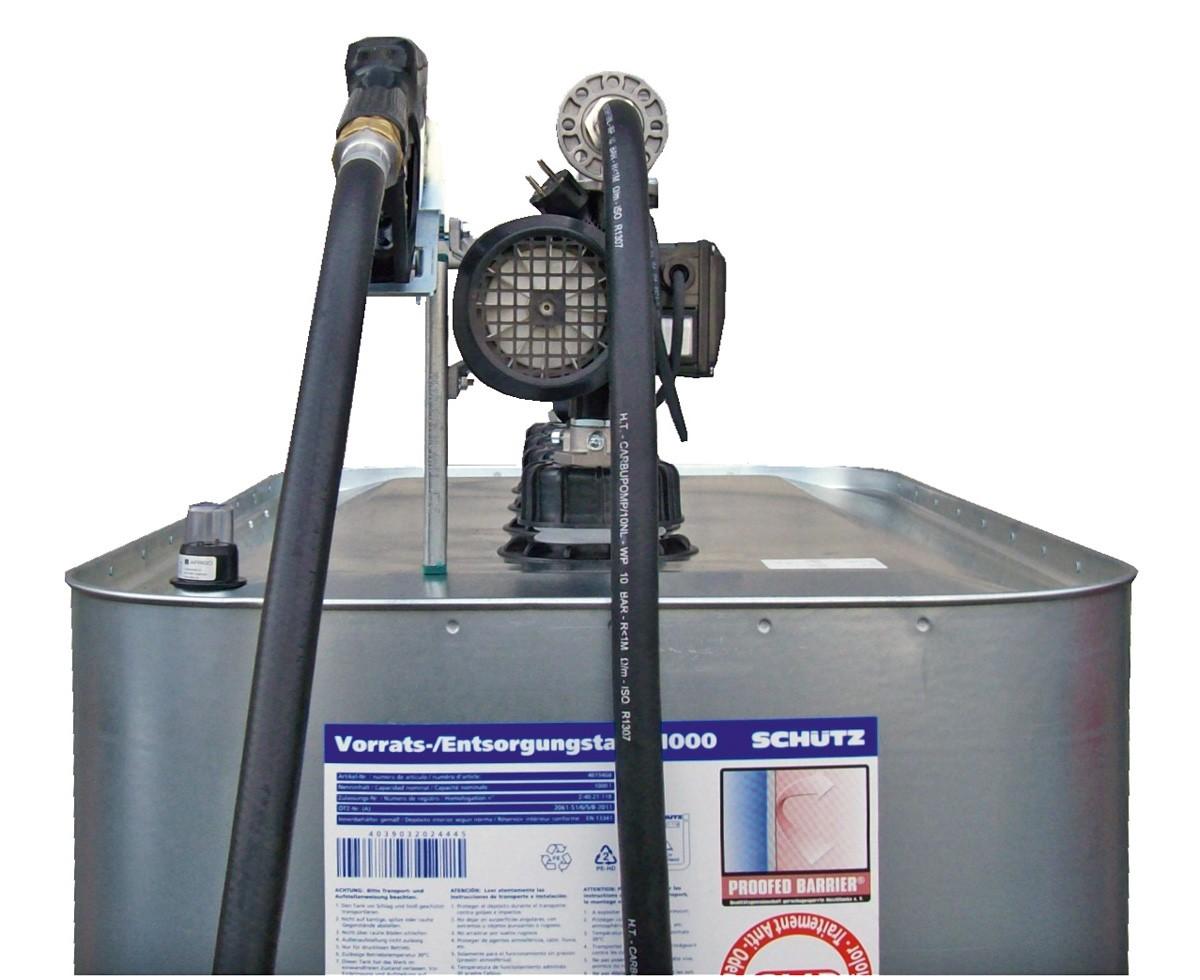 1000l hoftankstelle dieseltankanlage dieseltankstelle dieseltank mit dieselpumpe ebay. Black Bedroom Furniture Sets. Home Design Ideas