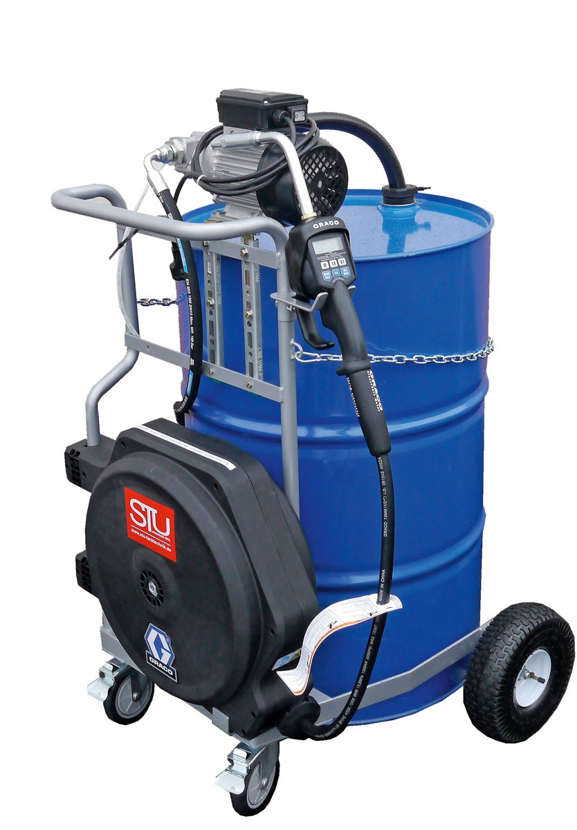 fahrwagen f r 200 liter fass zahnradpumpe viscomat 200. Black Bedroom Furniture Sets. Home Design Ideas