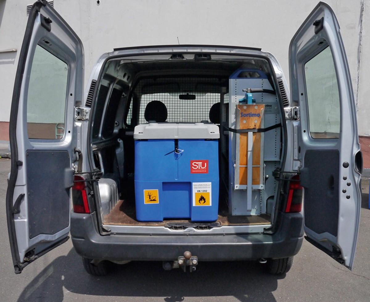 230l mobile diesel tankstelle dieselpumpe dieseltank. Black Bedroom Furniture Sets. Home Design Ideas