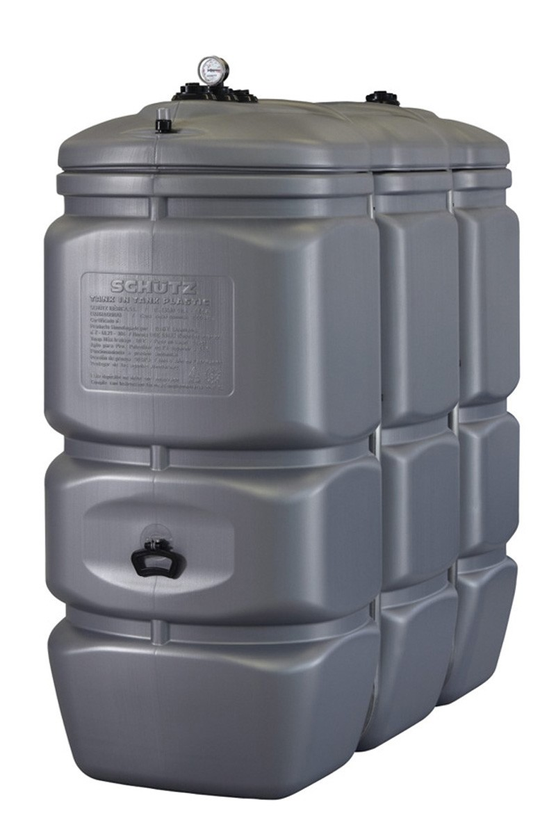 1500l doppwandiger vorratstank entsorgungstank dieseltank adblue lagertank ebay. Black Bedroom Furniture Sets. Home Design Ideas
