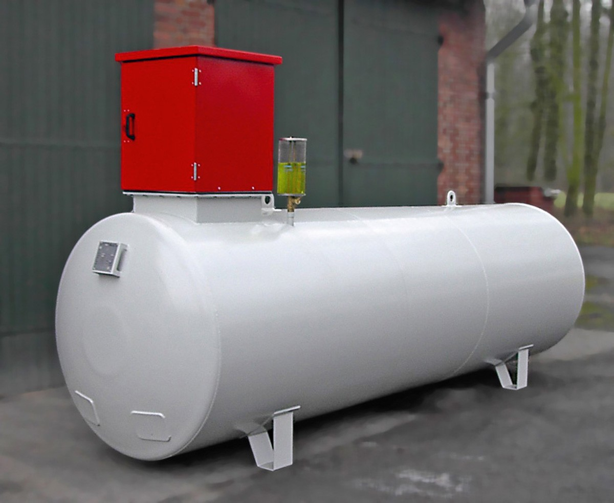 5000l dieseltank tankanlage dieseltankstelle hoftankstelle dieselpumpe z hler ebay. Black Bedroom Furniture Sets. Home Design Ideas